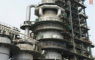Qirun Huagong 800,000 tones per year catalytic cracking unit