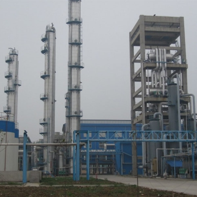 methanol installation