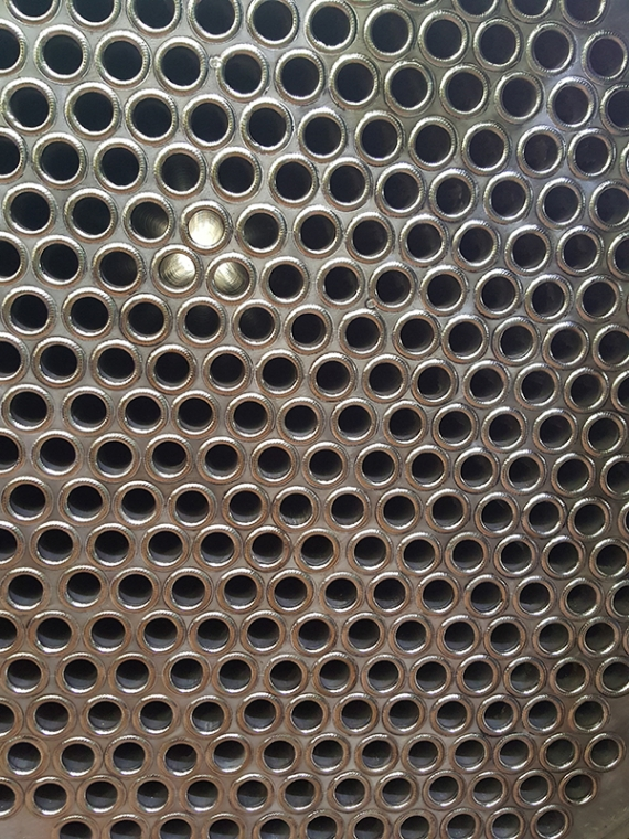 tube plate automatic weld