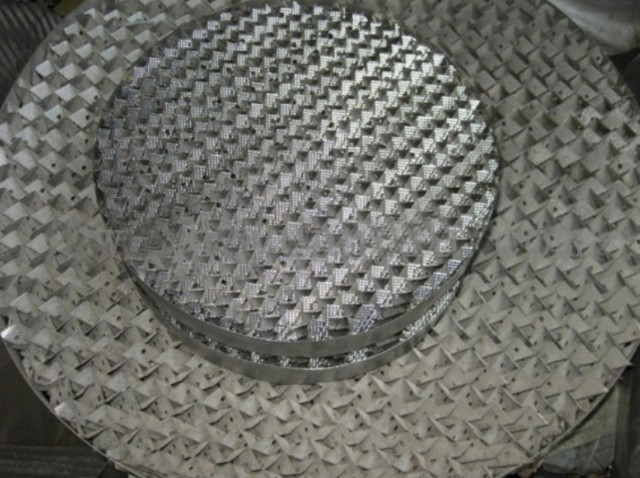 wire mesh corrugated